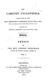A History of Greece: Volume 1