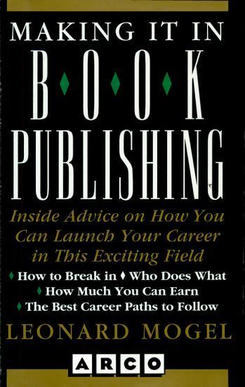 Making It in Book Publishing PDF