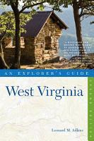 Explorer s Guide West Virginia  Second Edition  PDF