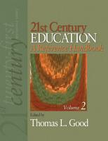 21st Century Education  A Reference Handbook PDF