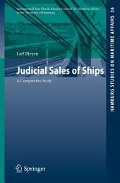 Judicial Sales of Ships: A Comparative Study