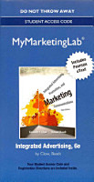 Integrated Advertising  Promotion  and Marketing Communications MyMarketingLab Access Code PDF