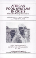 African Food Systems in Crisis: Microperspectives
