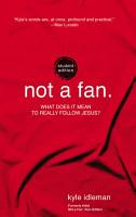 Not a Fan Student Edition PDF