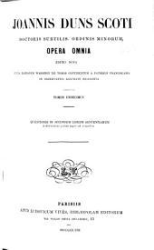 Opera omnia: Volumes 11-12
