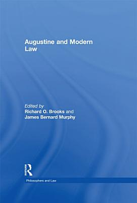 Augustine and Modern Law