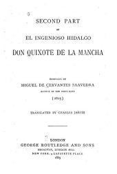 El ingenioso hidalgo Don Quixote de la Mancha: Volume 2