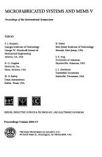 Microfabricated Systems and MEMS     PDF