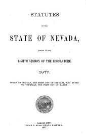 Statutes of the State of Nevada Passed at the ... Session of the Legislature