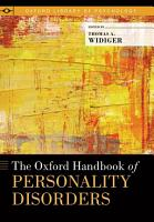 The Oxford Handbook of Personality Disorders PDF