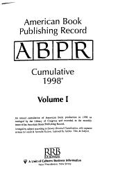 American Book Publishing Record Cumulative 1998 PDF
