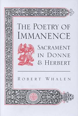 The Poetry of Immanence