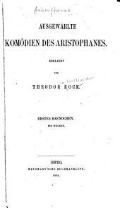 Ausgewählte komödien des Aristophanes