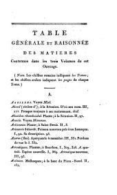 Voyage dans les quatre principales iles des mers d'Afrique: fait par ordre du gouvernement, pendant les années neuf et dix de la république (1801 et 1802), avec l'histoire de la traversée du Capitaine Baudin jusqu'au Port-Louis de l'ile Maurice, Volume3
