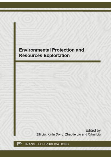Environmental Protection and Resources Exploitation PDF