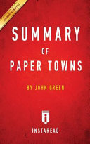 Download Summary of Paper Towns Book