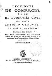 Lecciones de comercio ó bien de economía civil