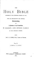The    Holy Bible  According to the Authorized Version  A D  1611   Joshua  Judges  Ruth  Samuel  Kings I PDF