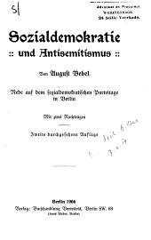 Sozialdemokratie und Antisemitismus