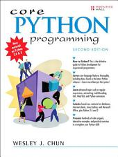 Core Python Programming: Edition 2
