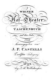 Wiener Hoftheater-Taschenbuch