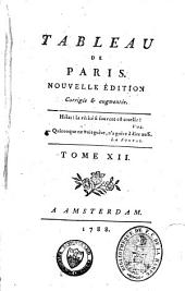 Tableau de Paris: Volume 12