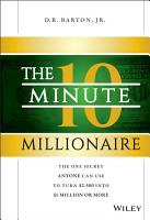 The 10 Minute Millionaire PDF