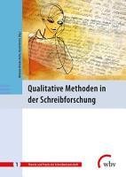 Qualitative Methoden in der Schreibforschung PDF