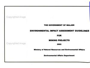 Environmental Impact Assessment Guidelines for  name of Projects   Mining projects PDF