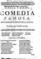 Seneca, y Neron. Comedia famosa