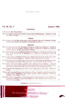 Journal of Medical Entomology PDF