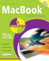 MacBook in easy steps, 4th Edition: Covers OS X Yosemite