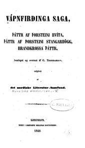 Nordiske oldskrifter: Bind 5–8