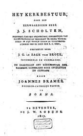 kerkbestuur, door J. J. Scholten