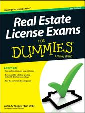 Real Estate License Exams For Dummies: Edition 2