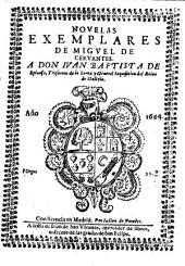 Novelas Exemplares De Migvel De Cervantes