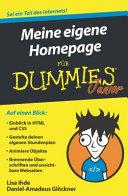 Meine eigene Homepage f  r Dummies Junior PDF