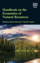 Handbook on the Economics of Natural Resources PDF