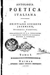 Antologia poetica italiana: Volume 1