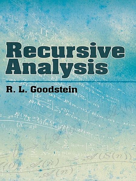 Download Recursive Analysis Book