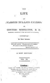The Life of Marcus Tullius Cicero: Volume 3
