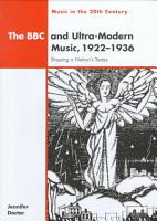 The BBC and Ultra Modern Music  1922 1936 PDF