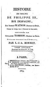 Histoire du règne de Philippe III, roi despagne [sic]...