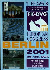 Proceedings, 7. FECAVA & 47. Annual Congress of the FK-DVG: Saturday