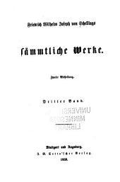 Sämmtliche Werke: Teil 2,Band 3
