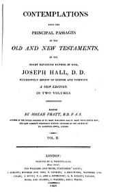 Contemplations upon the principal passages of the Old and New Testaments