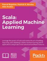Scala Applied Machine Learning PDF