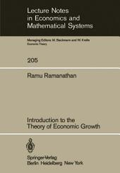 Introduction to the Theory of Economic Growth
