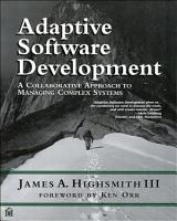 Adaptive Software Development PDF