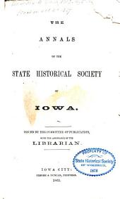 Annals of Iowa: Volumes 1-3